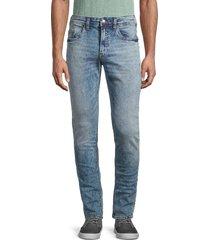 buffalo david bitton men's max x basic skinny jeans - authentic navy - size 33 32