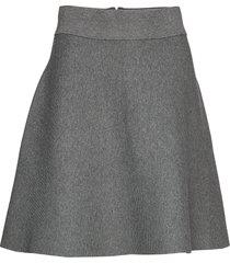 pauline knit skirt kort kjol grå morris lady