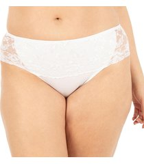 calcinha cintura renda branco florette - 004.022 marcyn lingerie boneca branco