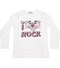 monnalisa pink panther long sleeve t-shirt