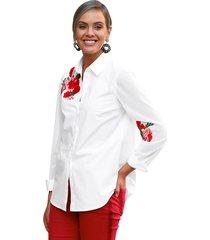 blouse amy vermont wit