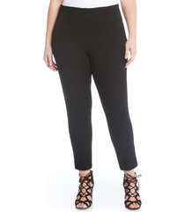 plus size women's karen kane piper skinny ankle pants