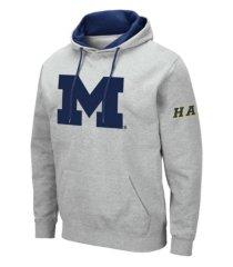 colosseum men's michigan wolverines big logo hoodie