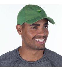 boné aba curva fila flag - strapback - adulto - verde claro