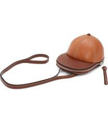 jw anderson midi cap shoulder bag - brown