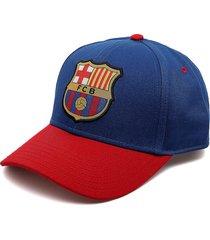 gorra azul-rojo barcelona