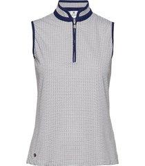 talia sl polo shirt t-shirts & tops polos blå daily sports