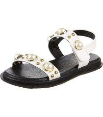 sandalia blanca coolpink perla