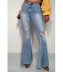 akira angels wings high rise flare jeans
