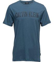jabor refined cotton t-shirts short-sleeved blå calvin klein
