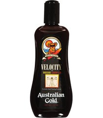 bronzeador australian gold velocity lotion - 237ml