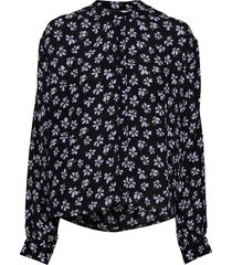 aline shirt blouse lange mouwen blauw nué notes