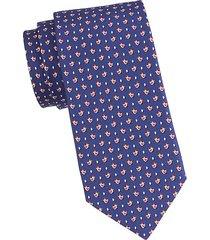 chicken & egg silk tie