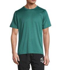 fila men's essentials regular-fit t-shirt - neon - size l