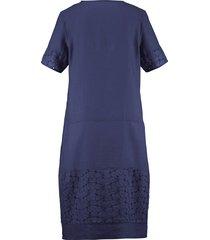 jurk van anna aura blauw