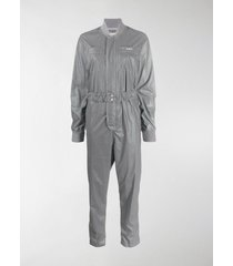 kirin logo embroidered fitted jumpsuit