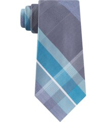 kenneth cole reaction men's crosswalk plaid tie