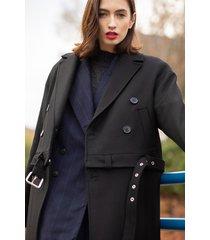 płaszcz 100% wełna jagnięca, odpinany dół.