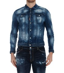 dsquared2 dan jean jacket
