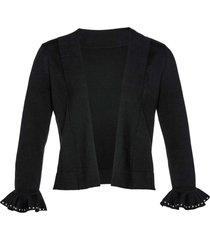 cardigan corto (nero) - bpc selection