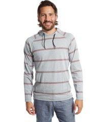 men's striped t-shirt hoodie