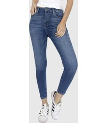 jeans skinny básico high denim racaventura