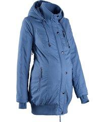 giacca prémaman regolabile con cappuccio (blu) - bpc bonprix collection