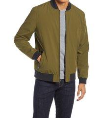 men's nordstrom bomber jacket, size xx-large - green