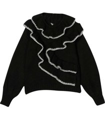 alberta ferretti black sweater
