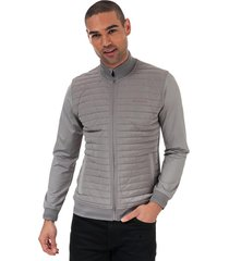 mens player quilted thermal jacket