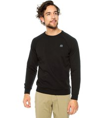 buzo negro under armour rival fleece crew