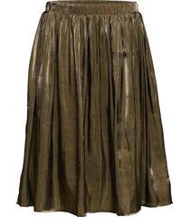 ealice, 3/4, skirt knälång kjol grön zizzi