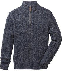 maglione con cerniera (blu) - john baner jeanswear