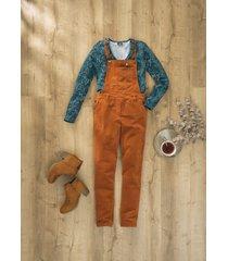 salopette di velluto extra larga (marrone) - bpc bonprix collection