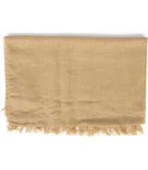 fay sand color viscose scarf