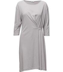 blouson jersey dress jurk knielengte grijs filippa k