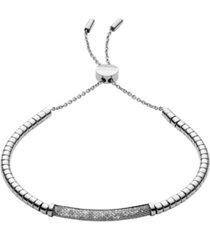 skagen women's merete stainless steel brilliant mesh bracelet