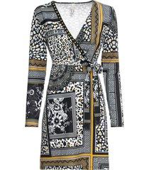 abito di jersey con stampa etnica (nero) - bodyflirt boutique