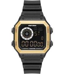 relógio mormaii vibe dourado mo2002jc/8d masculino