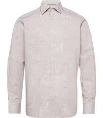 contemporary fit business poplin shirt overhemd business crème eton