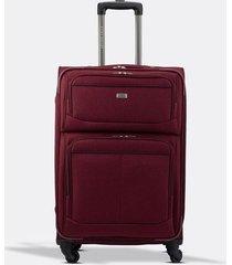 maleta de viaje mediana textil ruedas 360 00153