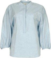 blouse cammy  blauw