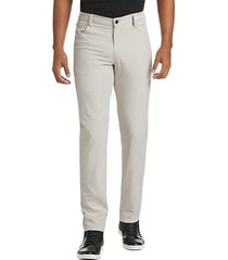 awearness kenneth cole men's stone slim fit casual pants - size: 38w x 30l