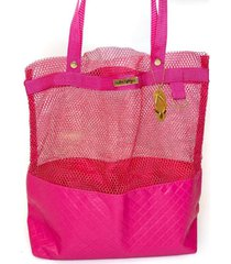bolsa tote shopper praia ombro feminina impermeável pink