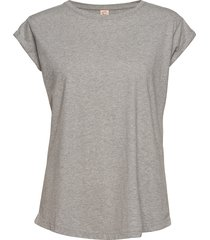 connie t-shirts & tops short-sleeved grå custommade