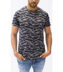 camiseta pmp slim tejida efecto camuflado