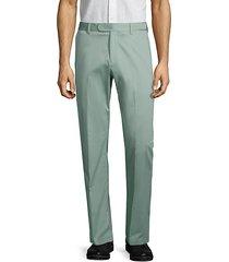 stretch-cotton dress pants