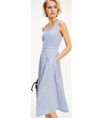 vestido reeve azul tommy hilfiger