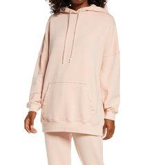 women's ugg simone boyfriend hoodie, size x-small - pink