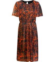 abito in mesh (arancione) - bodyflirt